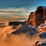 Canyondlands nevado